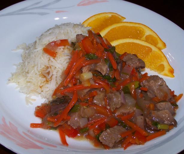 Spicy Orange Beef Stir Fry
