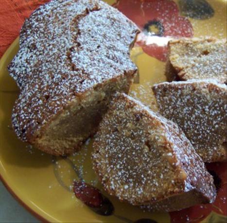Honey & Pine Nut Coffee Cake
