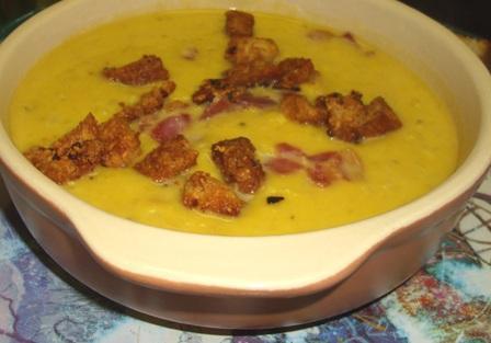 Garlic Parmesan Croutons!