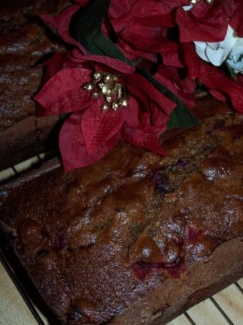 Pumpkin-Cranberry Quick Bread
