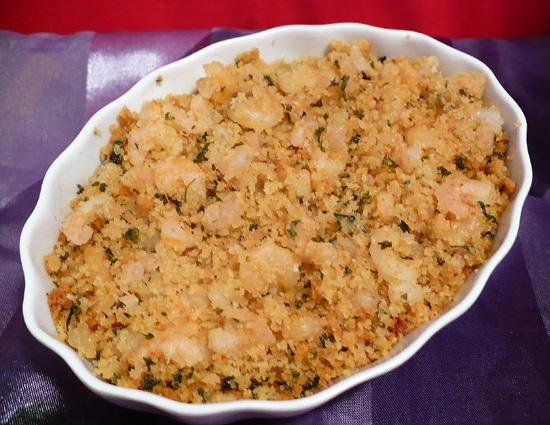 Casserole of Shrimp in Garlic Butter (Shrimp De Jonghe)