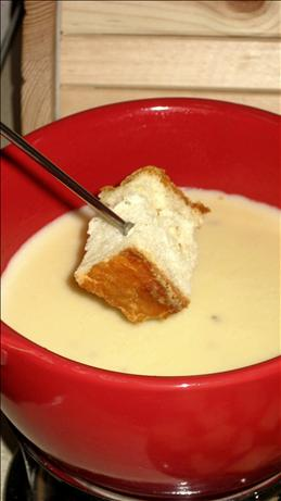 Warm and Creamy Swiss Cheese Dip With Caraway