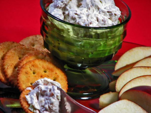 Creamy, Bacon, Walnut ,and Blue Cheese Dip