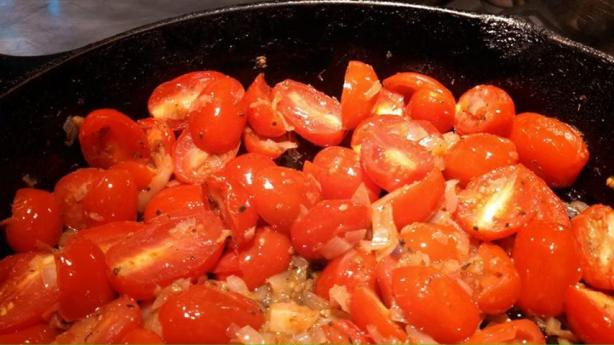 Tomato and Red Onion Compote