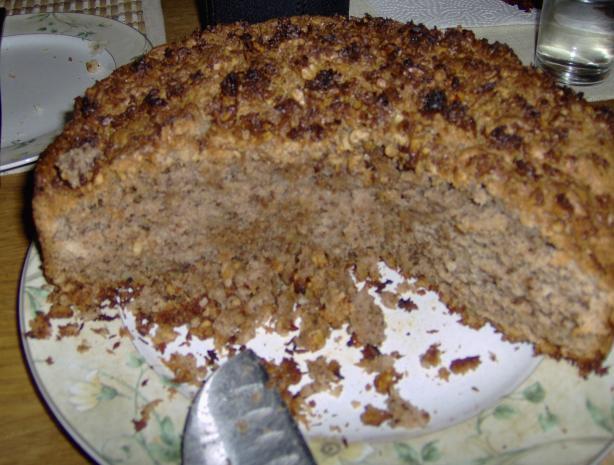 Coconut Streusel Coffee Cake