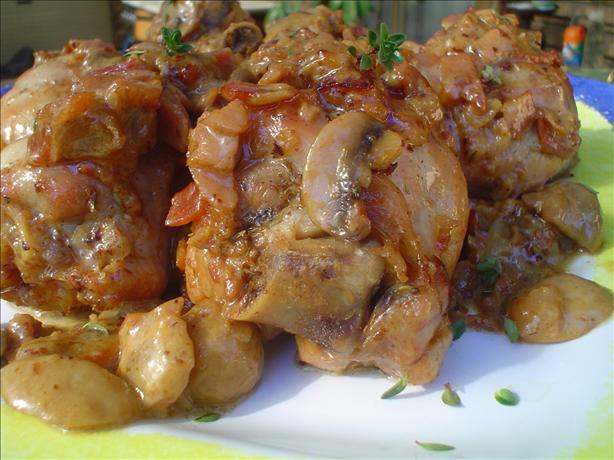 Bone-In Chicken With Bacon & Thyme