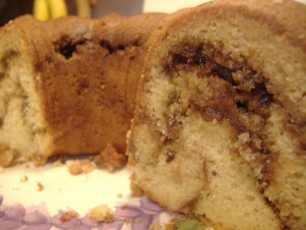 Vanilla Streusel Coffee Cake