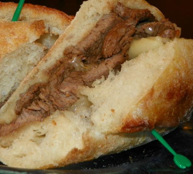 Seasoned Sirloin Steak BBQ Sandwiches