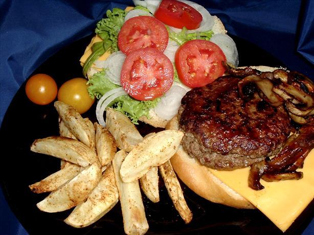 Gourmet Bleu Cheese Burgers