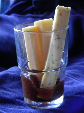Super Easy Make Ahead Appetizer: Fig Compote and Cheese