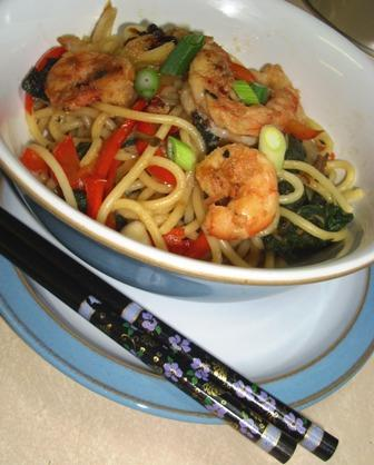 Szechuan Noodle Toss