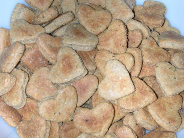 Natural Apple Cinnamon Oats Doggy Treats
