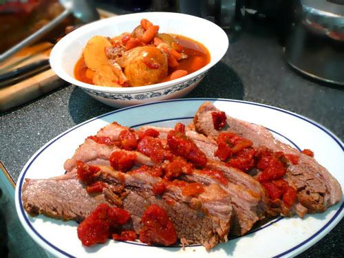 Brisket Pot Roast Style