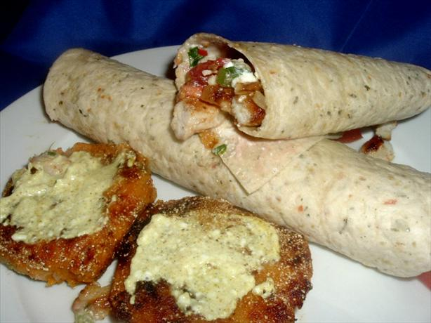 Sweet Mashed Potato Cakes With Curry Sour Cream
