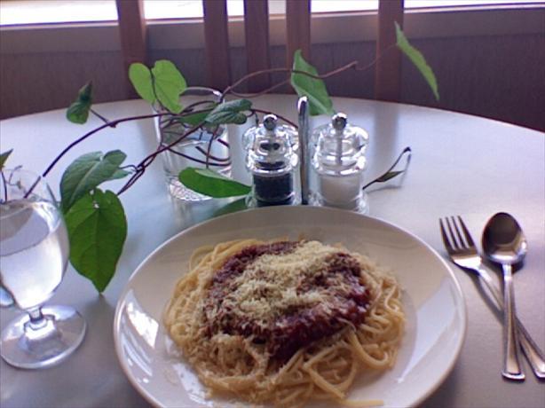 The Greatest, Most Flavoursome, Vegetarian Spaghetti!