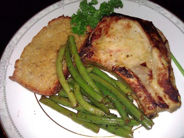 Honey-Mustard Pork Chops – Ww 4 Pointsplus