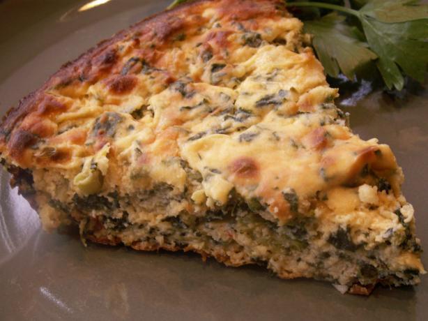 Spinach Ricotta Pie