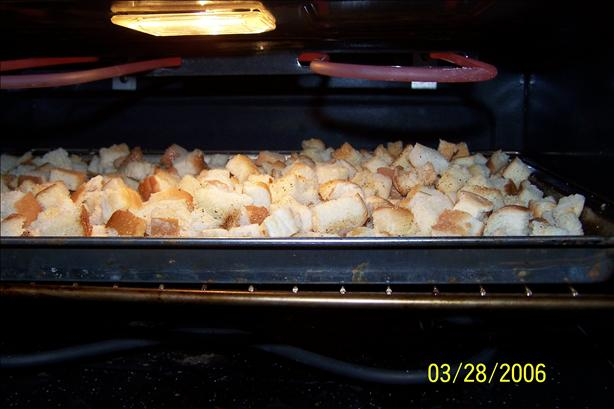Garlic Croutons