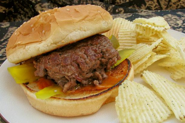 The A&w Mama Burger