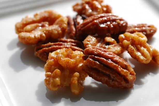 Perfectly Candied Pecans