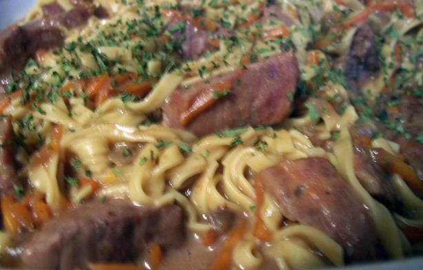 Easy Beef and Noodles Casserole...