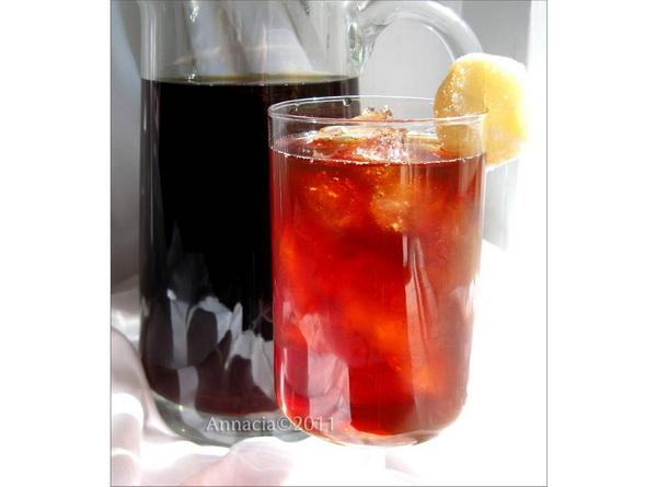 Ginger and Honey Sweet Tea