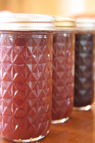 Strawberry and Rainier Cherry Jam
