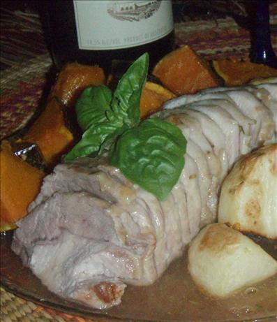 Roast Pork Loin With Apple Rosemary Glaze ( Olive Garden )