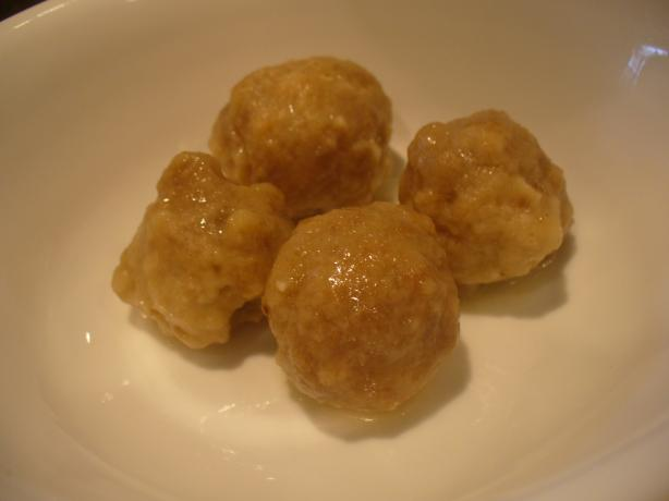 Butter Balls for Chicken Broth or Noodle Soup