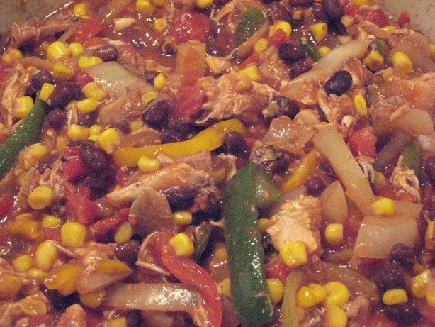 Black Bean Chicken Stew OAMC
