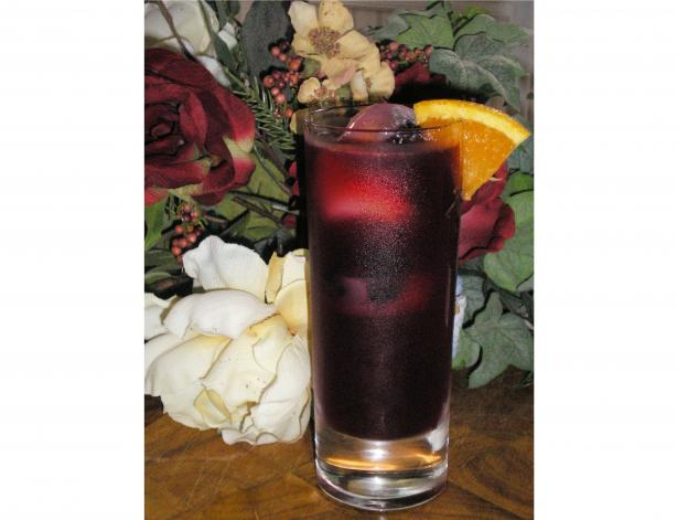 Blackberry & Orange Iced Tea