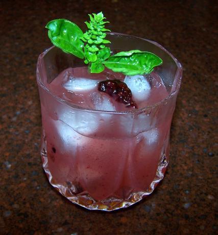 Blackberry Basil Iced Tea