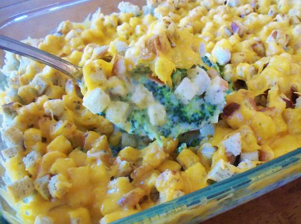 Broccoli and Stuffing Casserole