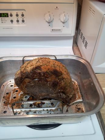 Herb Crusted Prime Rib Roast