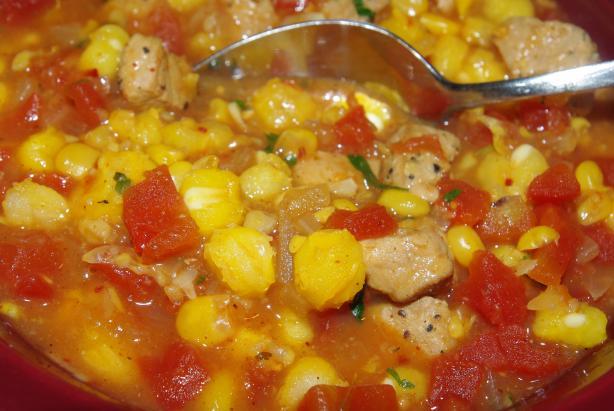 Posole (Mexican Pork Stew)