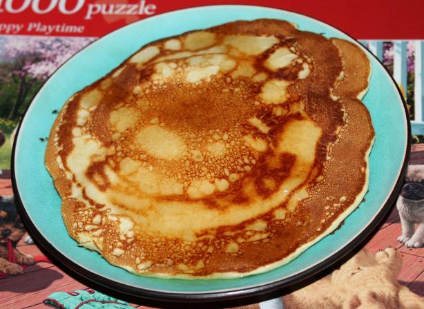 Fluffy Buttermilk Pancakes Via RealMomKitchen.com