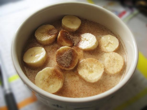 Bananas With Coconut Milk (Gluten Free)