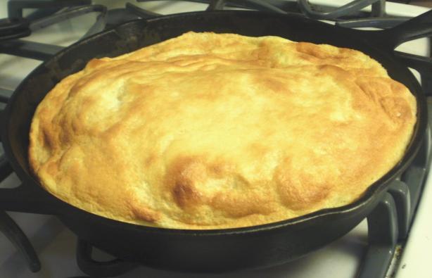 Giant Cinnamon Apple Pancake