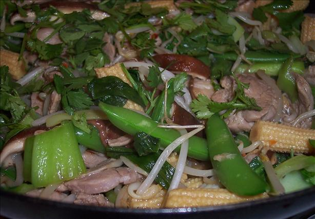 Pork and Vegetable Stir Fry