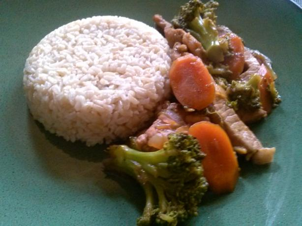 Asian Inspired Pork and Broccoli Stir-Fry