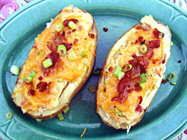 Twice Baked Potatoes With Bacon and Ranch