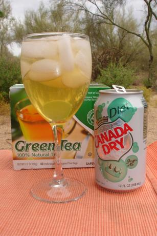 Green Tea Cocktail (Non-Alcoholic)