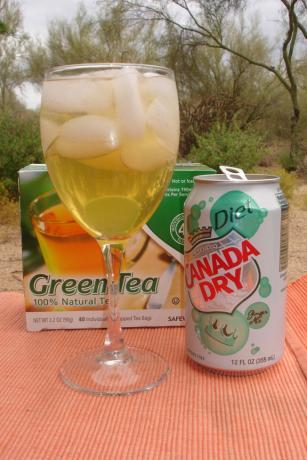Green Tea Cocktail (Non-Alcoholic)