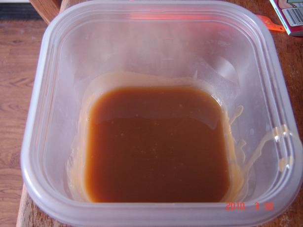 Caramel Ice Cream Sauce