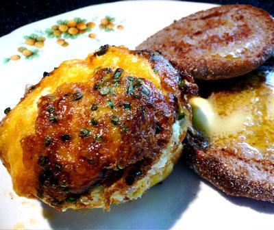 Mini Ham 'n' Cheese Frittatas