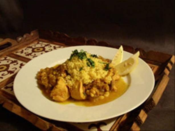 Moroccan Chicken and Date Tagine