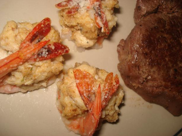 Crab Meat Stuffed Shrimp
