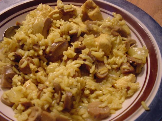 Solo Chicken Mushroom Pilaf