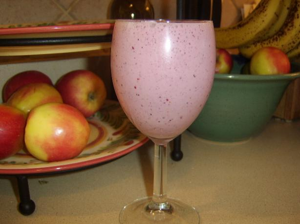 Theresa's Mixed Fruit Yogurt Smoothie