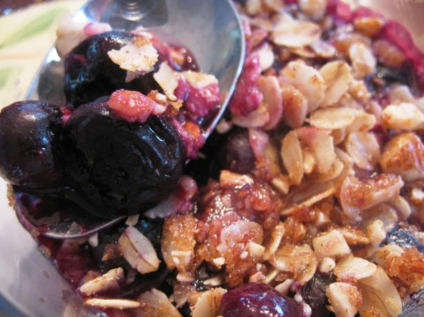 Blueberry (Or Any Fruit) Crumble
